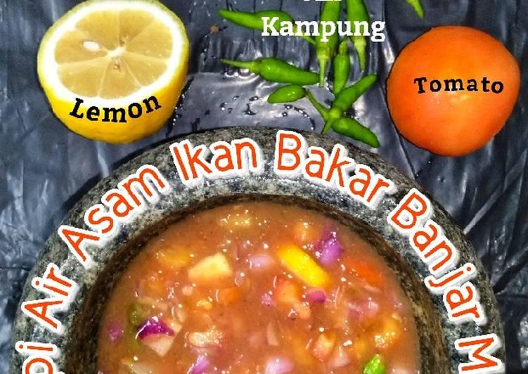 Resepi Air Asam Ikan Bakar Banjar Moden - resepipouler.com