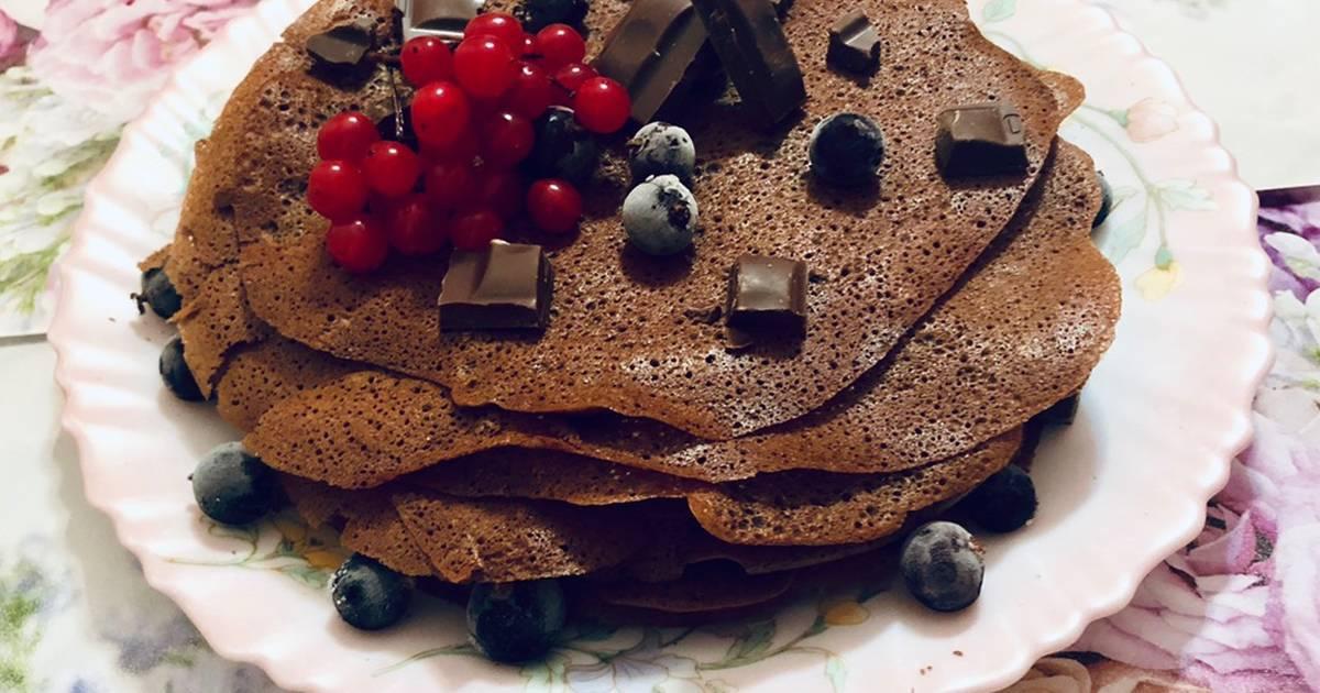 блинчики шоколадные на молоке рецепт с фото стиль интерьере характеризуется
