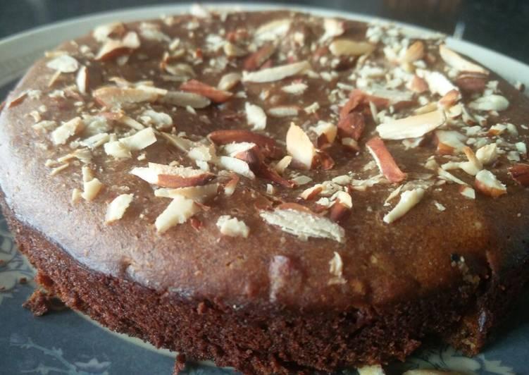 Recipe of Super Quick Homemade Banana Dates Wheat Flour Cake