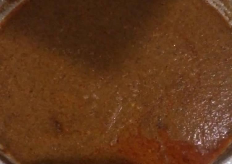 Resep Sambal Kacang Siomay/ Batagor yang Enak