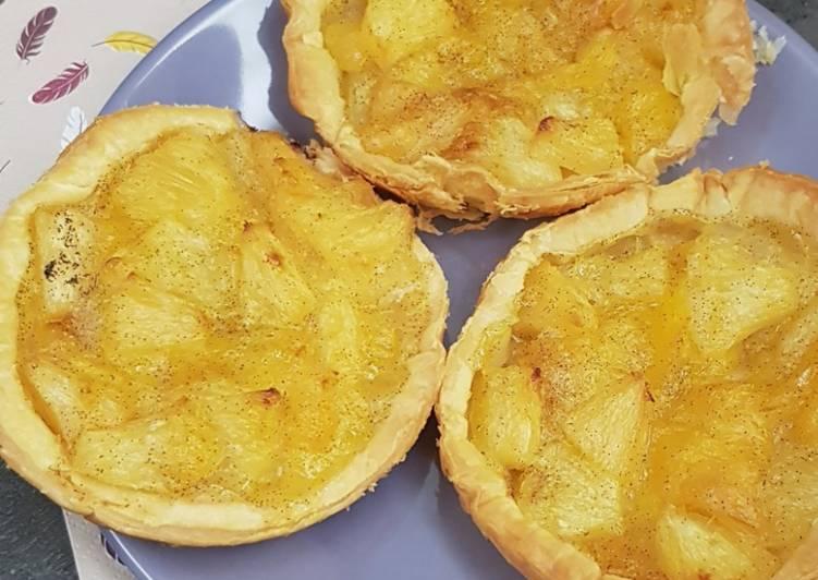 Comment Préparer Les °tartelettes exotiques ananas/mangue