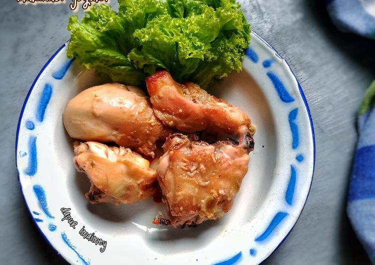 Ayam Panggang marinasi yogurt - cookandrecipe.com