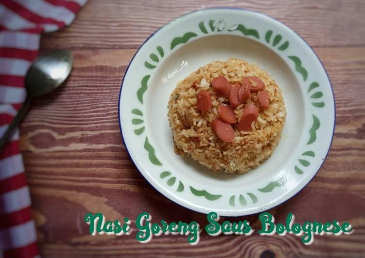 Nasi Goreng Saus Bolognese