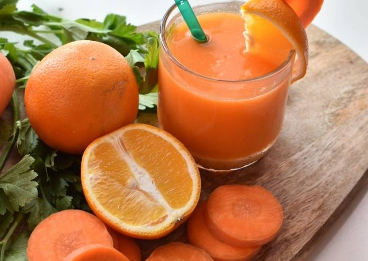Orange Carrot JUICE - resepipouler.com