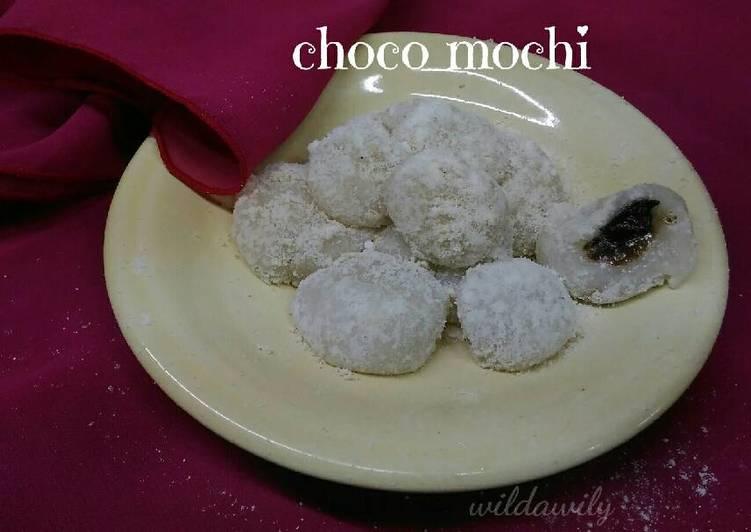 Mochi isi coklat