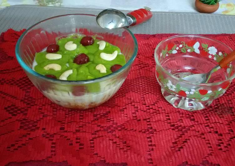 Avacado -Creamy Pudding