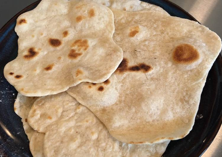Simple Way to Prepare Super Quick Homemade Flour Tortillas