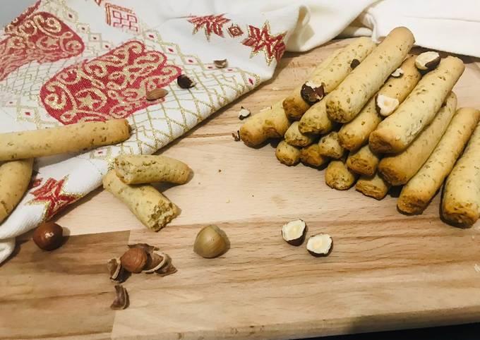 Biscuits aux sésames et noisettes
