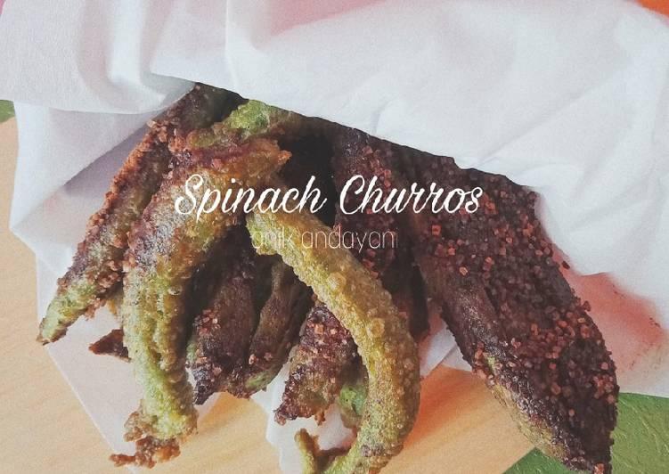 Spinach Churros