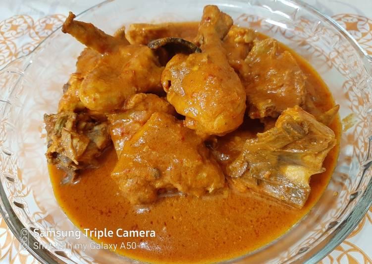 Resep Rendang ayam Yang Mudah Bikin Nagih