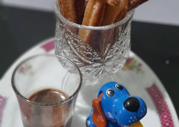 Churos colek coklat milo