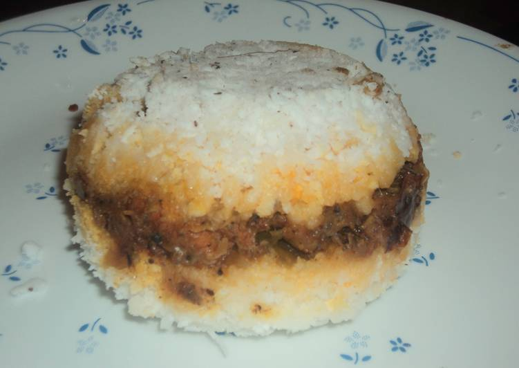 Foods That Can Make Your Mood Better Erachi puttu / Steamed Chicken Rice Cake