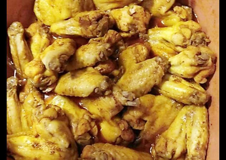 Ricetta Alette di pollo marinate agli aromi e salsa di soia
