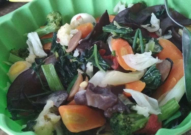 Capcay sayuran sehat