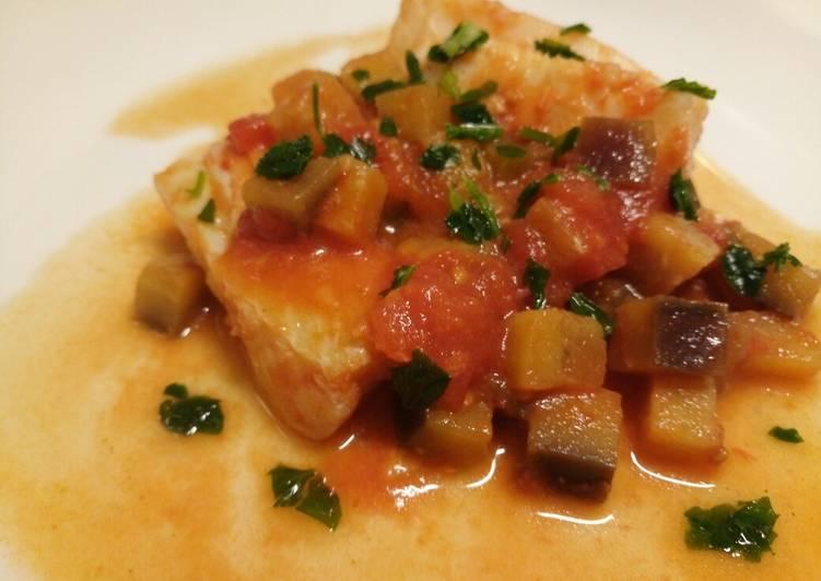 Spicy cod and aubergine stew Baccalà e melanzana piccante 🎄
