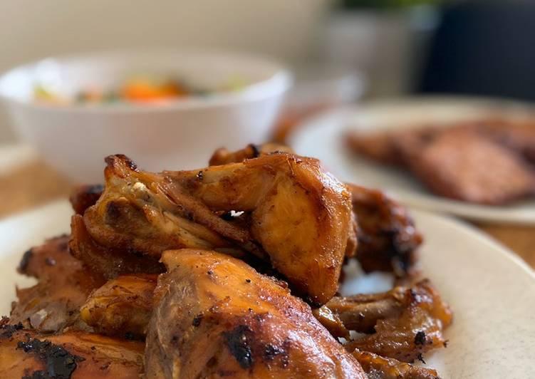 Ayam bakar/ goreng bacem