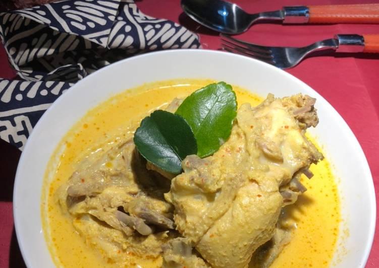 Kari Ayam Kampung - cookandrecipe.com