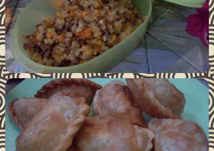 Resep Isian multi (bisa buat pastel,roti goreng,bakpau) Bikin Laper