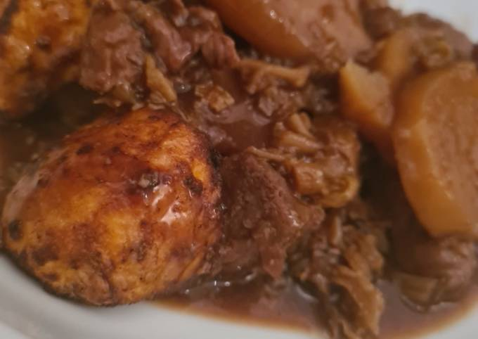 Fussy Slow Cooker Beef Stew