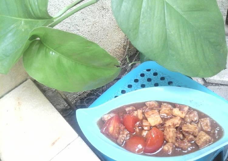 Semur Daging Sapi Cincang +Tahu + Tempe yg Maknyus