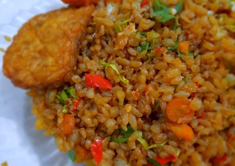 Resep Nasi Goreng Shirataki Sehat Paling Enak