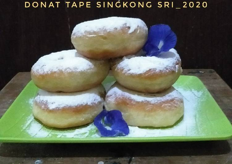 Donat Tape Singkong