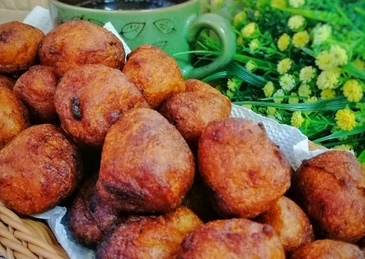 Resepi: Cekodok Pisang Simple
