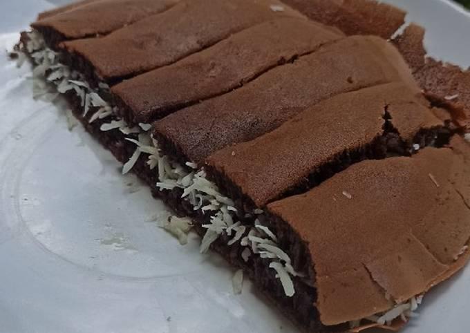 Martabak manis chocolatos drink