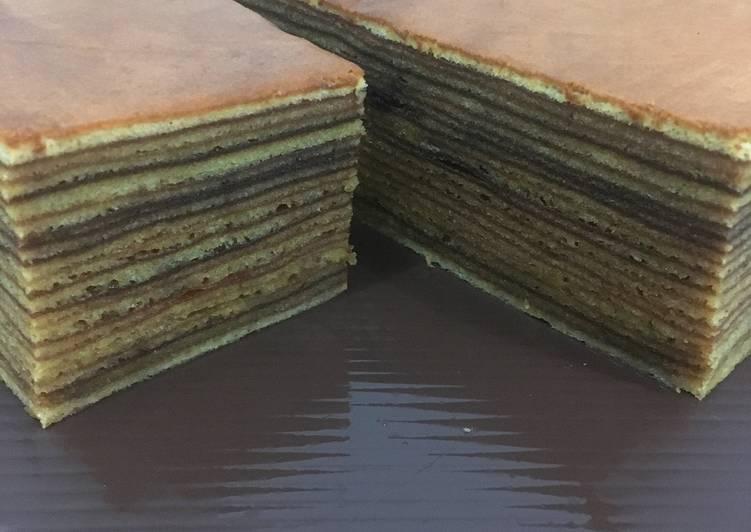 Resep Praktis A Thousand Layers Cake a.k.a Lapis Legit Anti Gagal