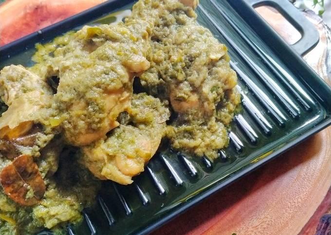 Ayam Hijau Minang