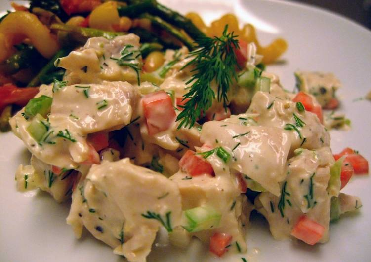 How to Make Yummy Lemon Dill Chicken Salad