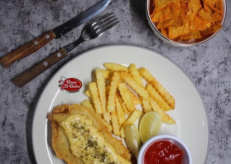 Fish & Chips w/ Tartar Mayo