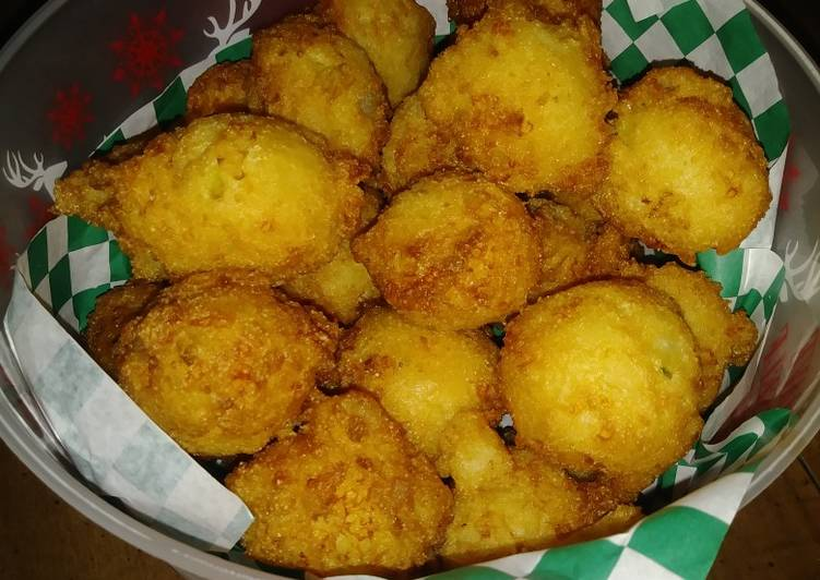 The Best Soft and Chewy Dinner Easy Love Holiday Hush Puppies
