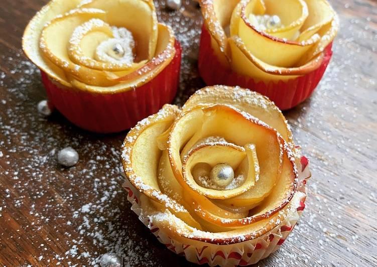 ☆Tartelettes de Pomme en Forme de Roses☆