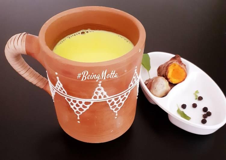 Recipe of Ultimate Raw Turmeric Golden Milk