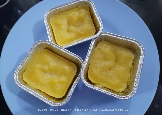 Kue Ubi Kukus - Snack Tinggi Kalori (MPASI 12M+)