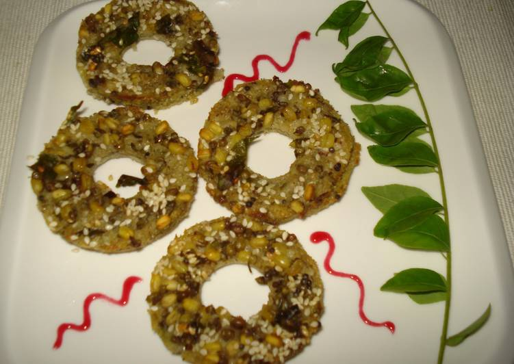 Absolutely Ultimate Dinner Ideas Summer Sprouted Moong Handvo Rings