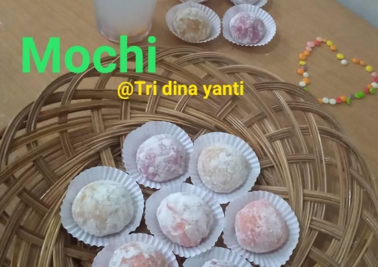 Mochi isi kacang - cookandrecipe.com