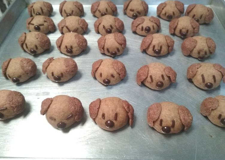 Doggy Cookies - cookandrecipe.com