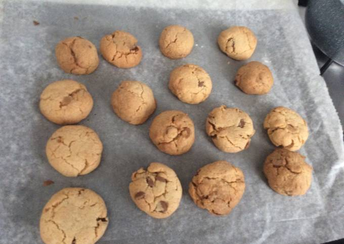 Steps to Prepare Favorite Nut- free chocolate chip cookies