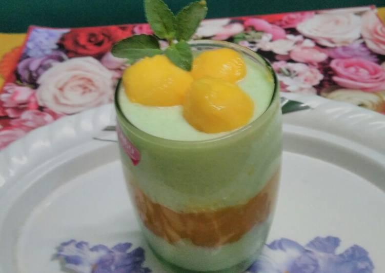 25 Minute Easiest Way to Prepare Summer Mango khus firni