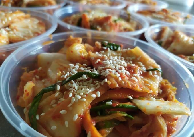 Spicy Pinoy-Style Kimchi