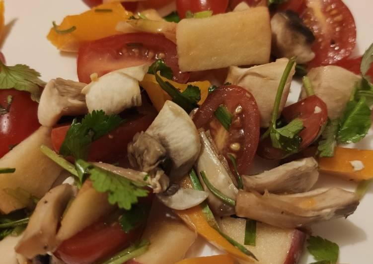 La Délicieuse Recette du *Salade de crudité (entrée)