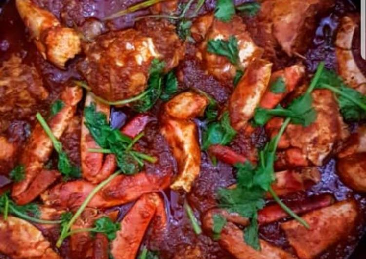 Steps to Make Award-winning Crab Curry