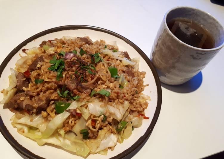 Nasi Goreng Mawut Kambing