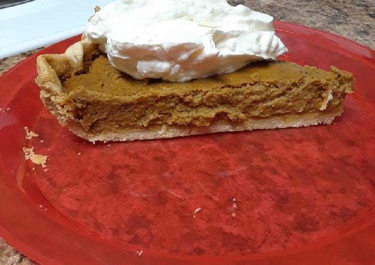 Easiest Way to Make Delicious Pumpkin Pie