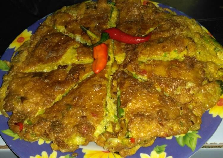 Telur dadar ala RM Padang