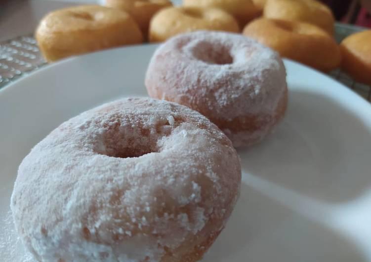 Resepi:  Tips: donut gebu daun pisang anti kecut  Sempena PKP