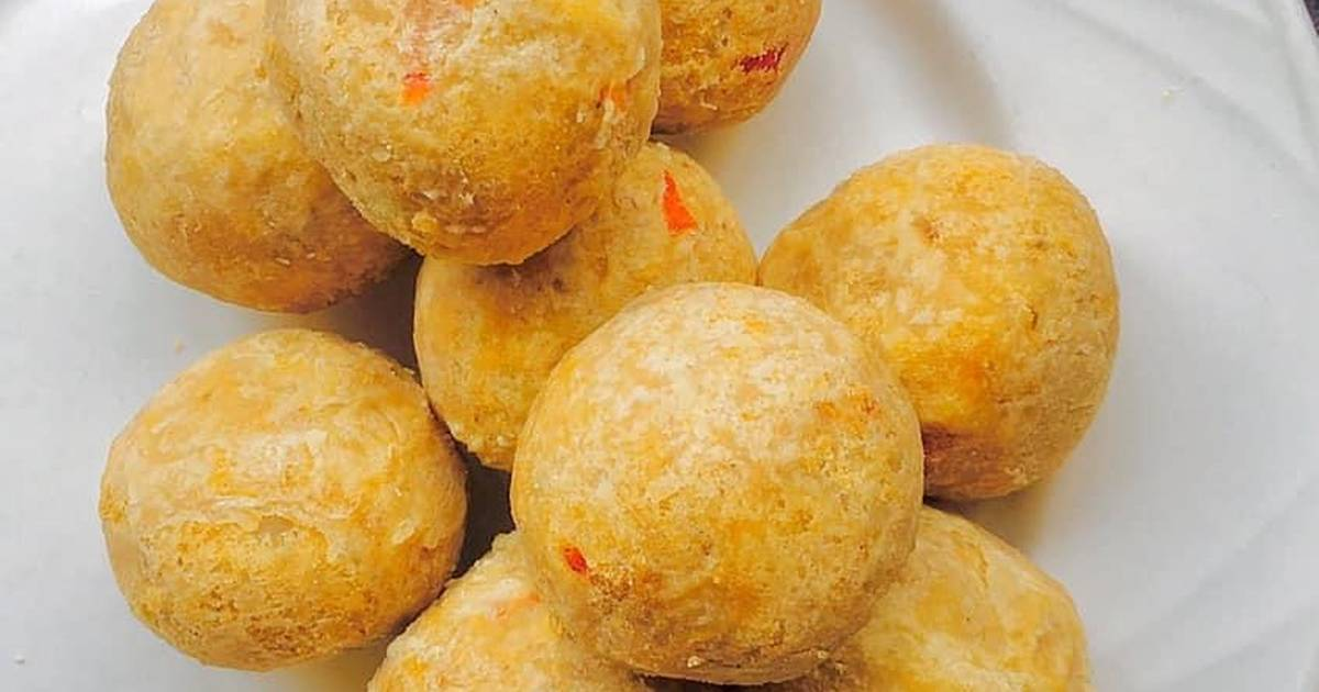 Fried yam balls Recipe by Foodiescene/ Pat's Kitchen - Cookpad