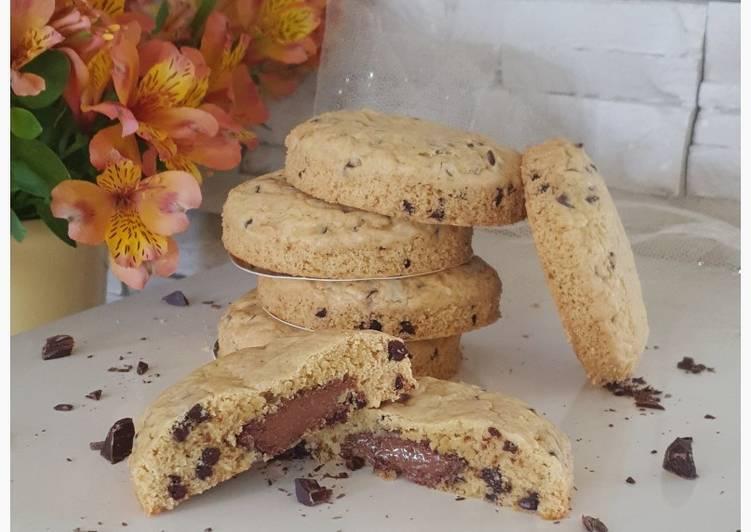 Recette: Cookies pâte à tartiner